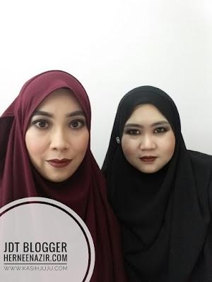 Berkenalan dengan blogger maszull dan hernee