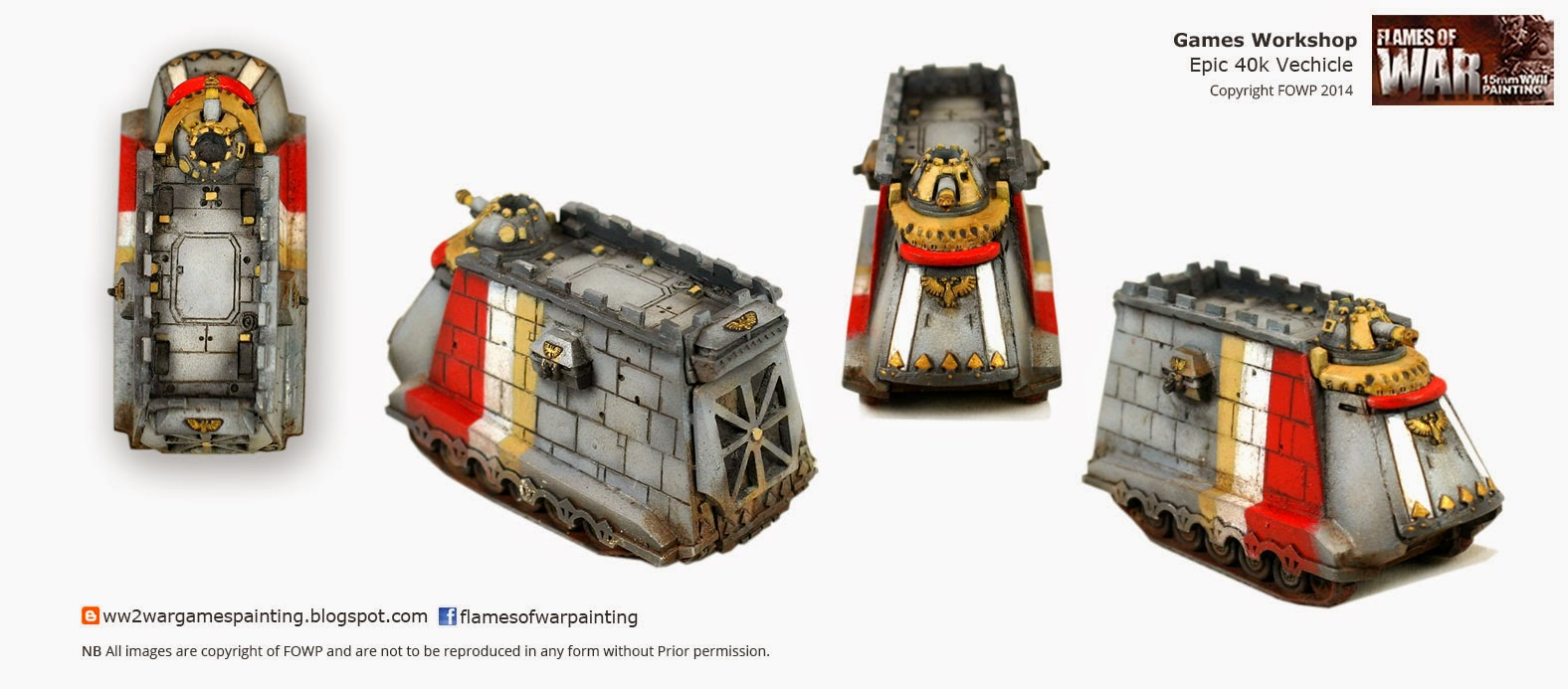 Epic 40k Behemoth Vehicle