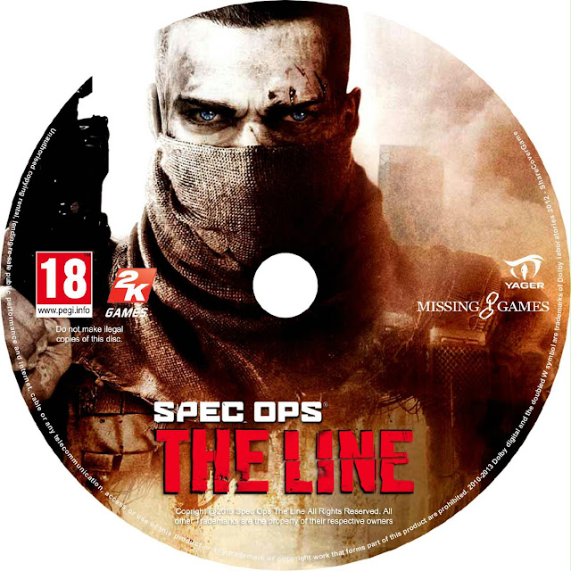 Label Spec Ops The Line PC