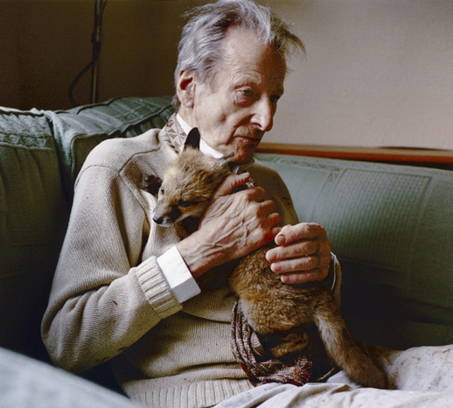 Lucian Freud, 2005, by photographer David Dawson