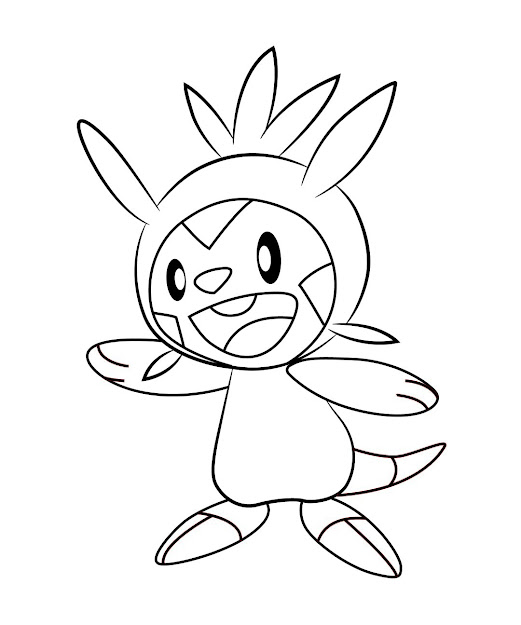 Coloring Pages Of Chespin For Elegant Pokemon Coloring Pages Froakie