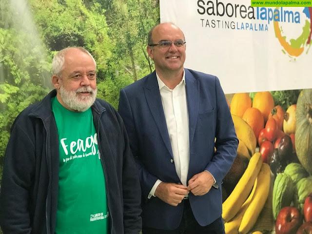 'Saborea La Palma' ya está presente en la Feria Regional Agrícola, Ganadera y Pesquera de Fuerteventura