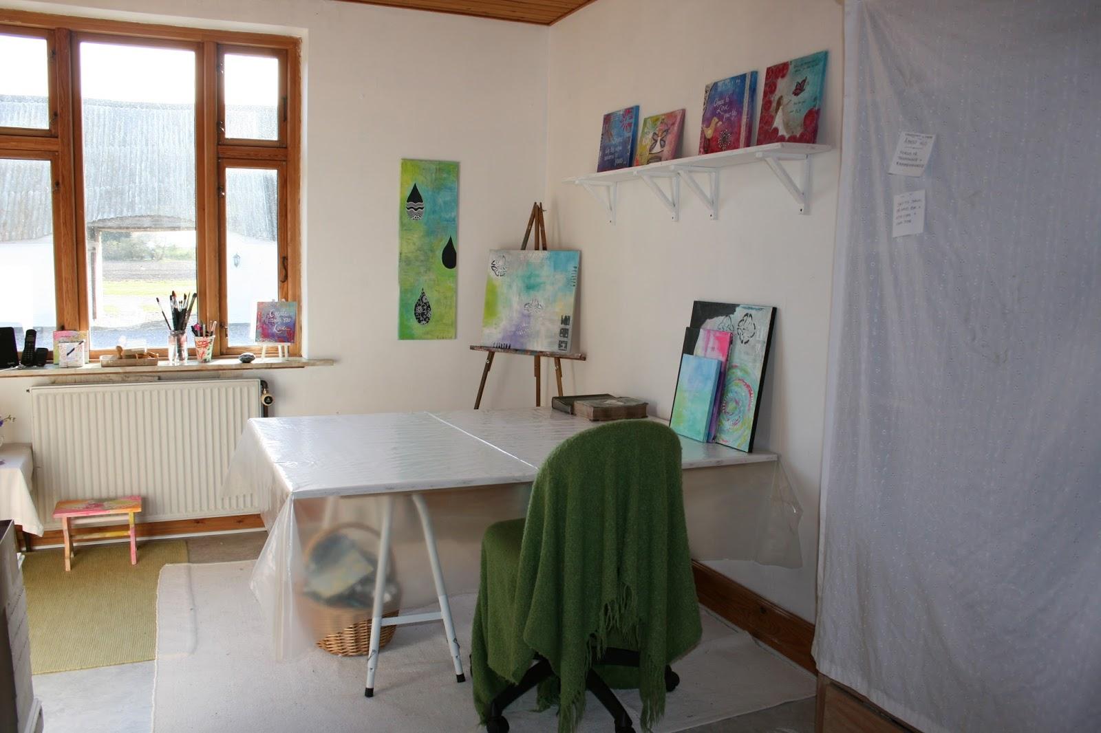 #6F432C Mest effektive Gitte Barlev: Oprydning I Arbejdsrum Og En Gør Det Selv Galleri Reol : ) Gør Det Selv Indbygget Reol 5465 160010665465