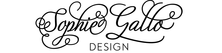 Sophie Gallo Design Blog