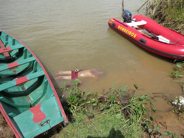 Casal é achado abraçado após afogamento no Rio São Francisco