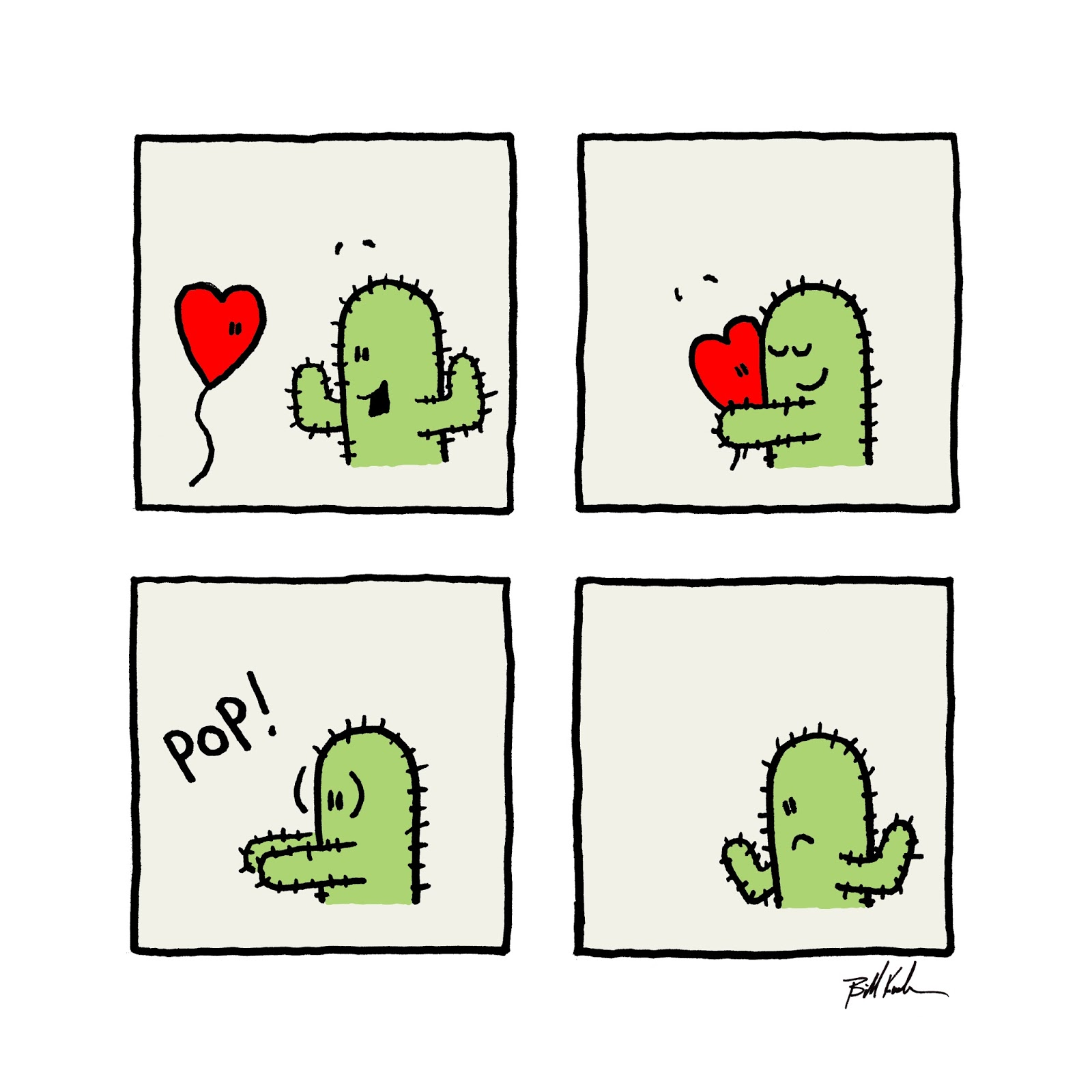 The Lonely Cactus' Valentine's Day