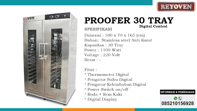 Proofer 30 Tray Digital Control