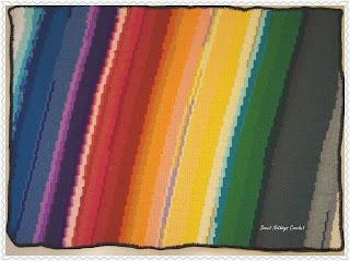 free crochet blanket pattern, Apache tears blanket free pattern