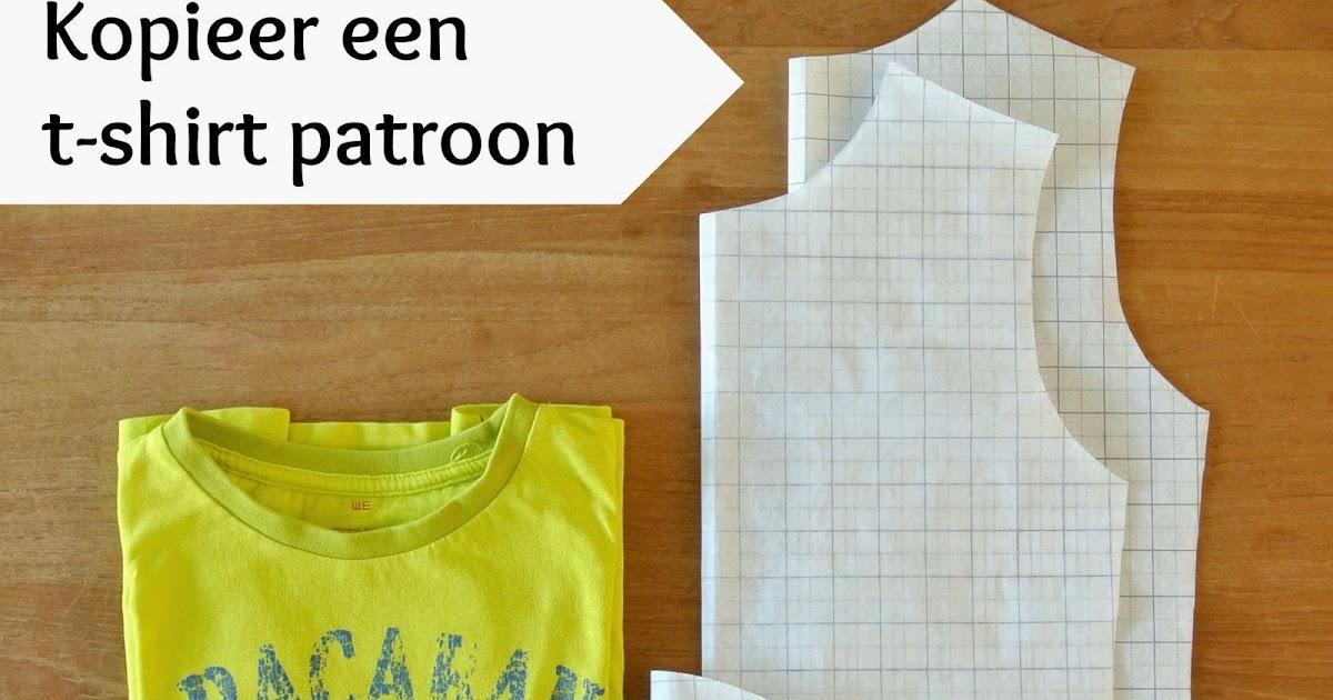 patroontekenen t shirt