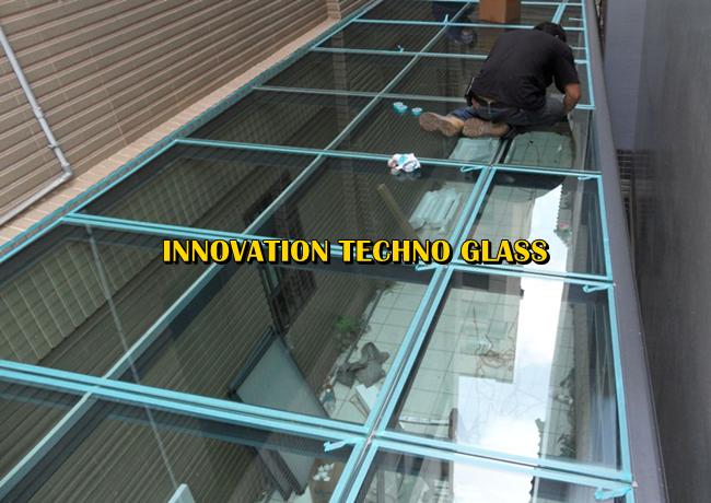 Tehnik Pemasangan Atap Kaca Pasang Kanopi Kaca Tempered Dengan