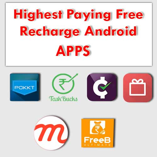freebies highesh paying talktime android apps free