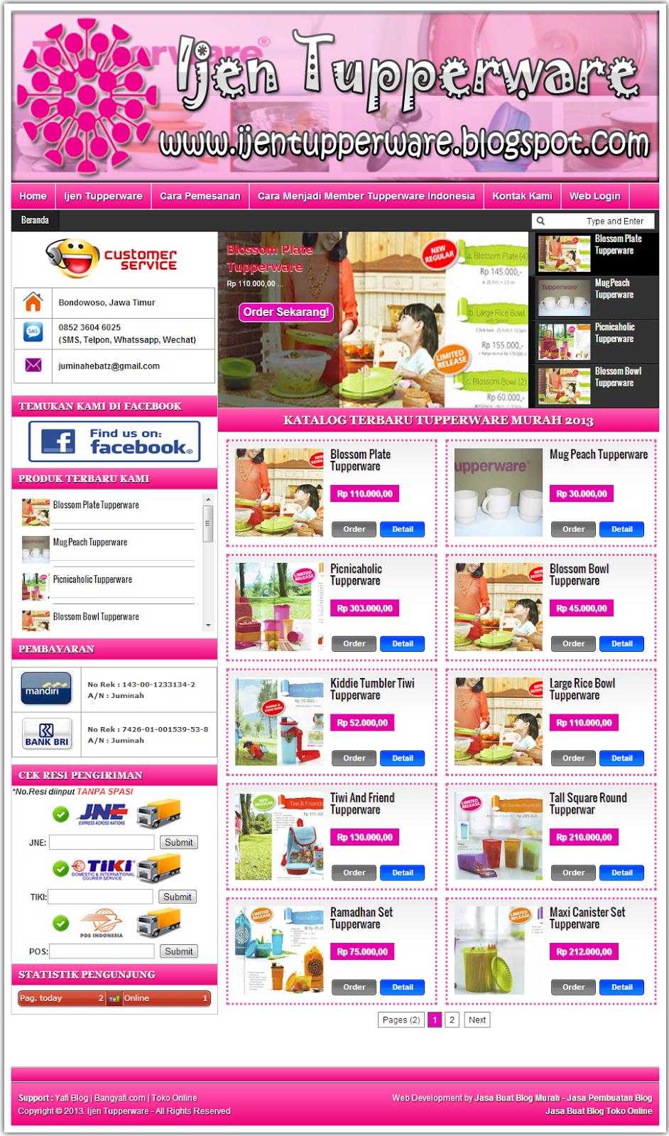Jasa Blog Toko Online