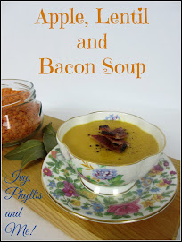 APPLE, LENTIL AND BACON SOUP
