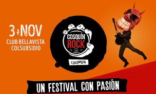 Festival COSQUIN ROCK 2018 COLOMBIA