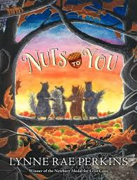 Nuts to you by Lynne Rae Perkins book cover chapter book