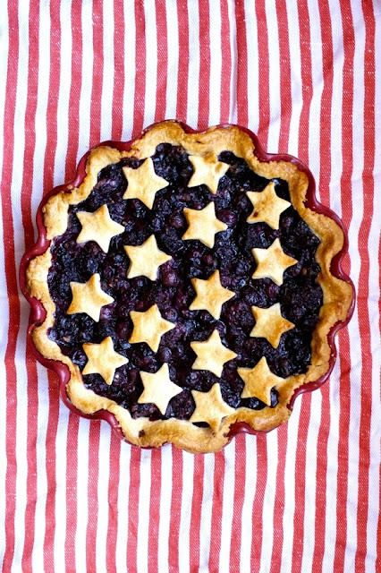 Blueberry Pie on Cosmo Cookies