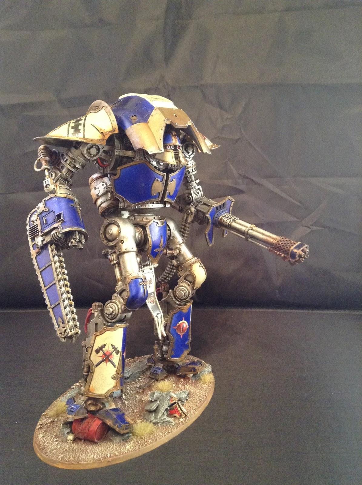 Code 40k Cerastus Knight Acheron Showcase House Makabius
