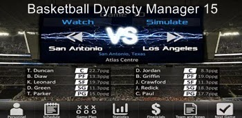 Basketball Dynasty Manager 15 Apk