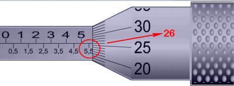 Cara Membaca Skala Mikrometer Sekrup