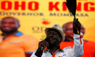 Kenya government denies pre-election raid on opposition offices