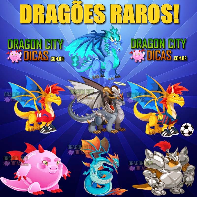 Como fazer os Dragões Raros do Dragon City!