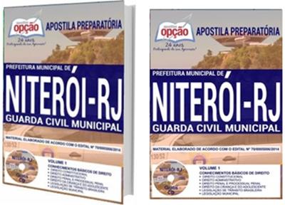 Apostila Concurso Prefeitura de Niterói 2018 Guarda Civil Municipal