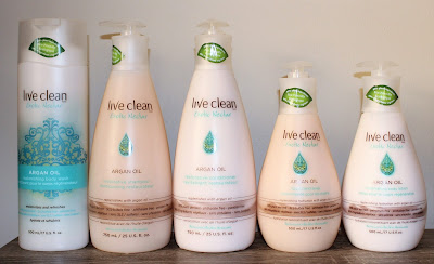 Live Clean Argan Oil Collection