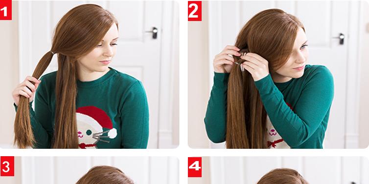Fine Loop Side Pony Hairstyle Tutorial For School Girls Calgary Short Hairstyles For Black Women Fulllsitofus
