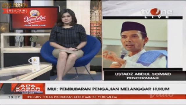 Penolakan di Bali: Ditanya Host tvOne Apa Ustad Trauma? Jawaban Ust. Abdul Somad Bikin Merinding