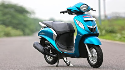 Yamaha Fascino scooter hd pics