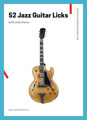 52 Jazz Guitar Licks - Riccardo Chiarion - eBook