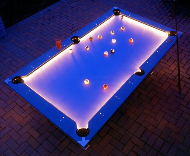 Fine Outdoor Pool Table With Lights Download Free Architecture Designs Scobabritishbridgeorg