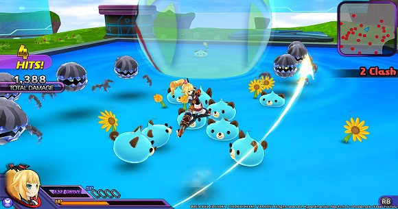 Hyperdimension Neptunia U Action Unleashed PC Full Version Screenshot 2