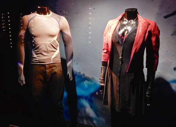 Avengers Ultron Quicksilver Scarlet Witch movie costumes