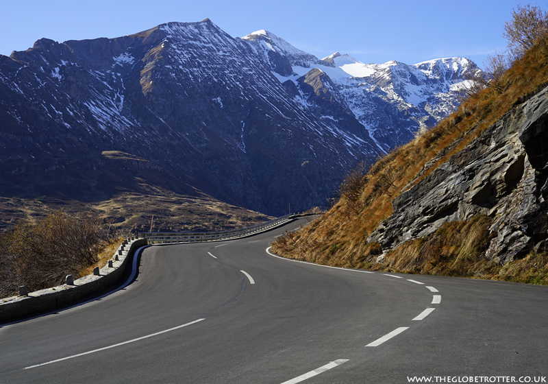 Driving the scenic Grossglockner High Alpine Road in Austria