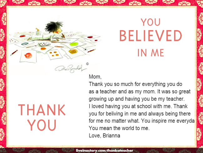 The Library Voice: A Very Special Teacher Appreciation Week
