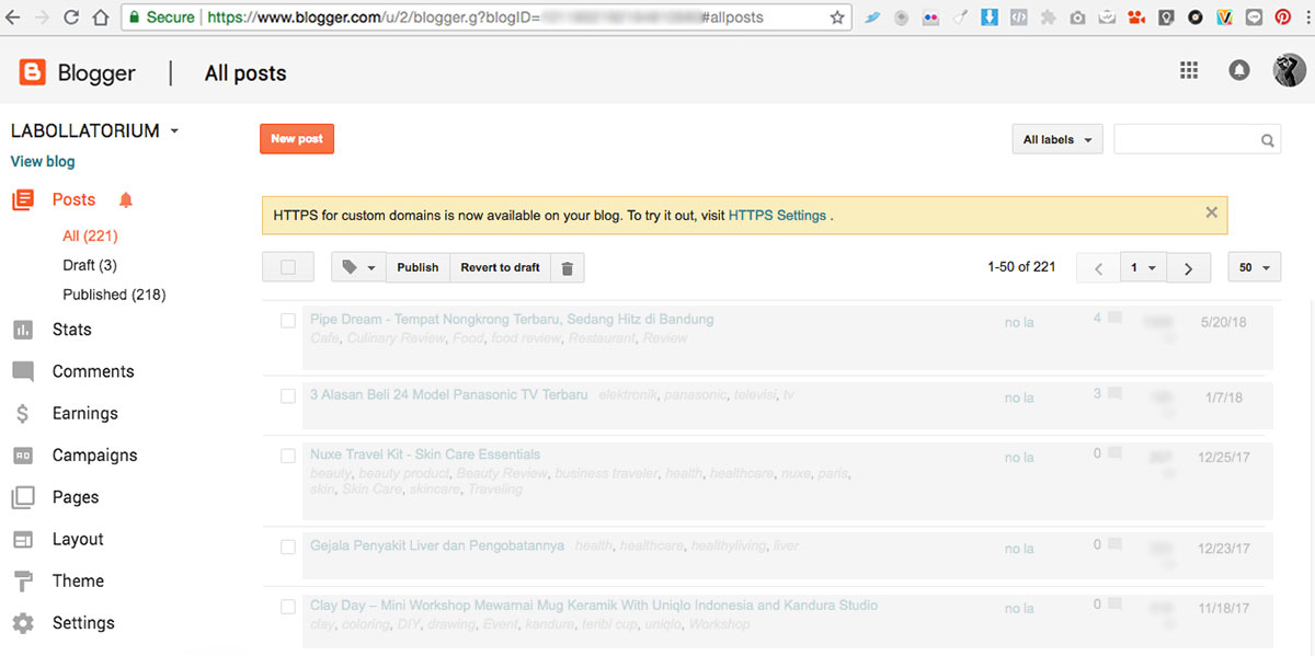 Cara Tingkatkan SEO Blog TLD dengan Mengubah HTTP Menjadi HTTPS