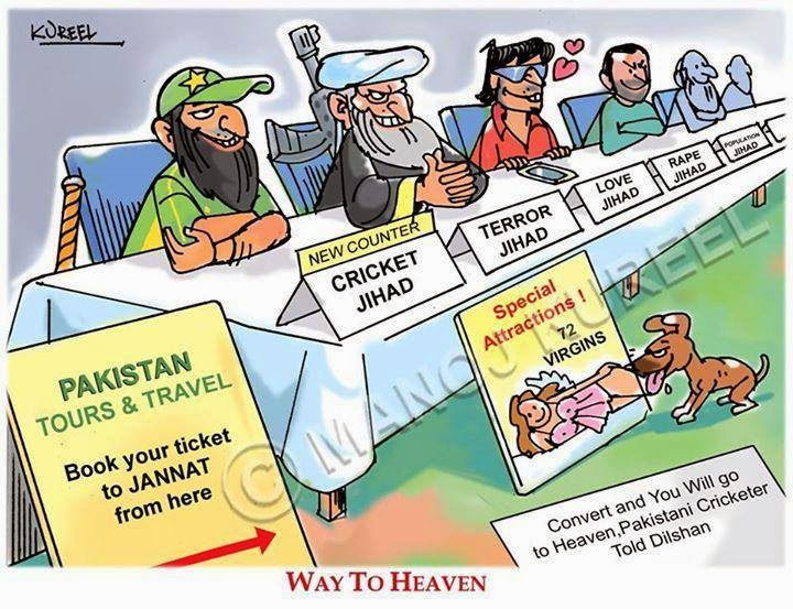 Confessions Of A Closet Republican Cricket Jihad Stani Player Tells Buddhist Convert And You Will Go To Heaven