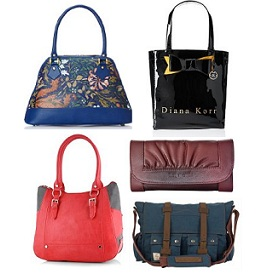 Women's Bags & Clutches – Min 50% Off starts from Rs.70 @ Amazon