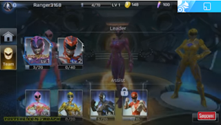 Power Rangers Legacy Wars MOD Unlimited Money Gems Apk Android Gratis Download