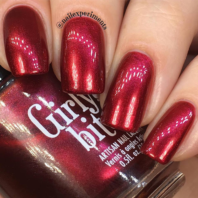 girly bits indie expo canada 2017 exclusive red rocket polish