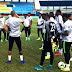 AFCON Qualifier: Eagles Train In Asaba Ahead Of South Africa Match