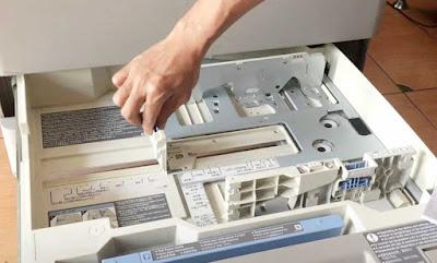 Baru Mengatasi kertas F4 tidak terbaca fotocopy Canon IR