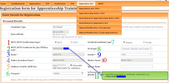 ITI Apprenticeship Registration 2019