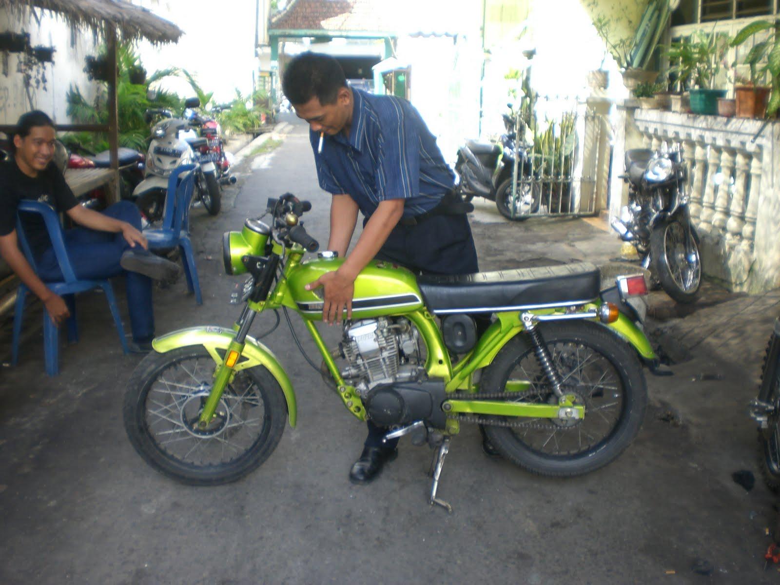 Download Koleksi 76 Modifikasi Motor Cb Jawa Timur Terkeren Fire Modif
