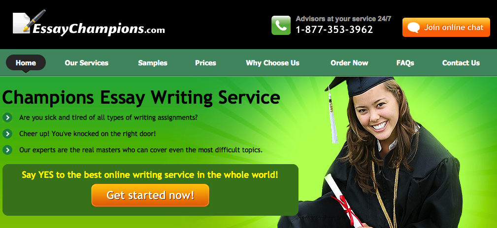 Online writing service review