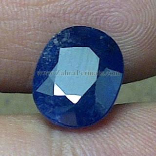 Batu Permata Blue Safir + Memo - ZP 788