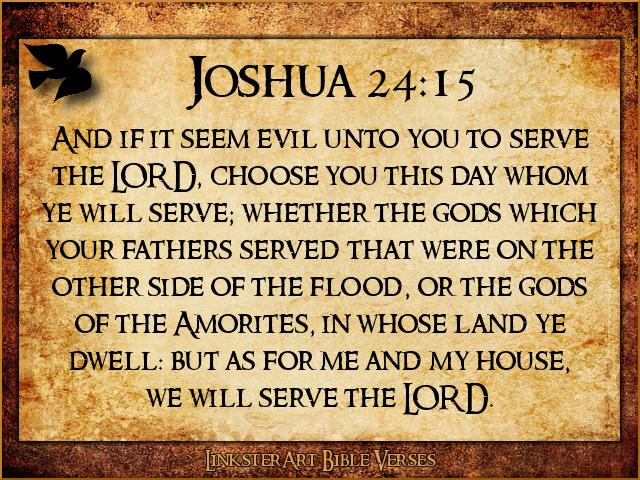 Joshua Bible Quotes Quotesgram