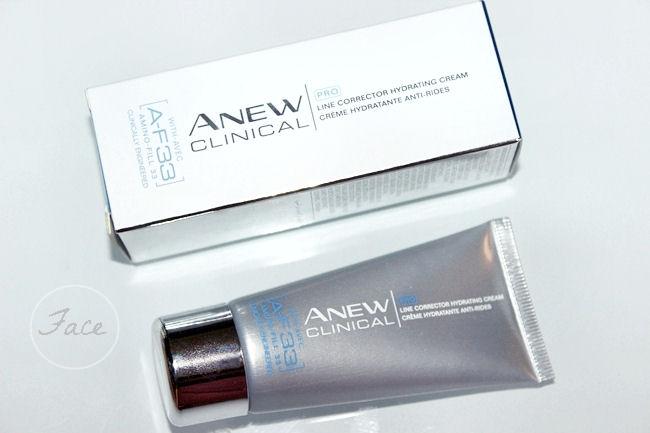 Avon Anew Clinical PRO line corrector hydrating cream hidrantna krema za bore