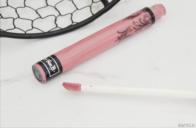 revue avis test kate von d everlasting liquid lipstick lovesick swatch